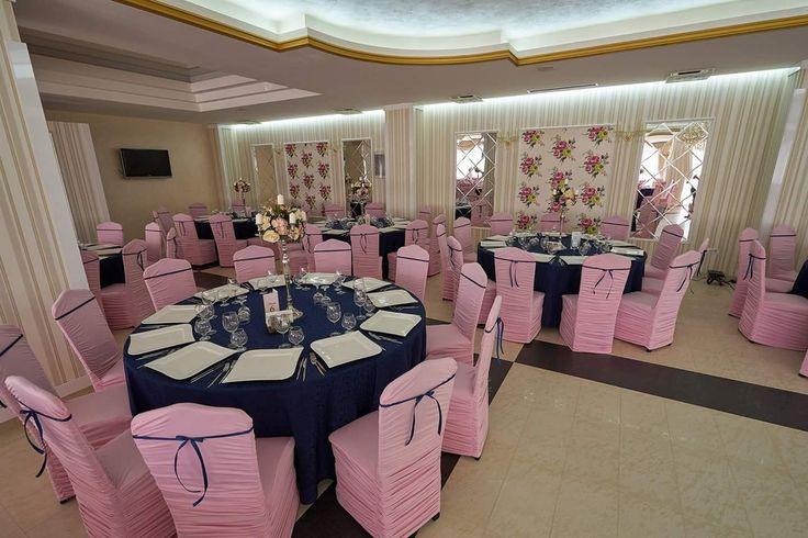 Decorațiuni pentru nunta la Restaurant Casa Grande