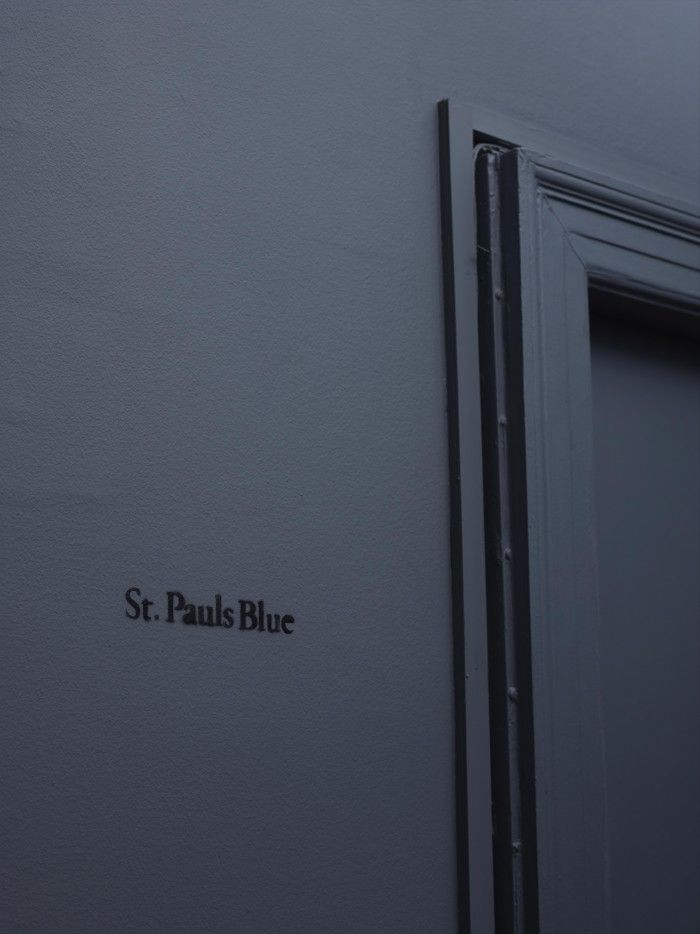 Collab between paint brand Jotun and Danish design firm Frama called St. Pauls Blue