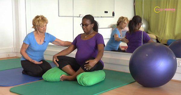 Vidéo: 3 exercices de préparation à l'accouchement... à faire à la maison - Magicmaman.com