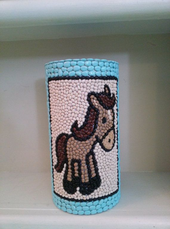Year of the Horse Cute Blue Dol Tower Dohl by EventAccessoriesbyMJ