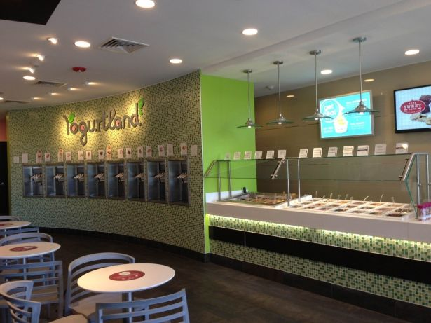Happiest & Heathiest Haven for me & my sweet tooth?! Could be Yogurtland in Newton Center