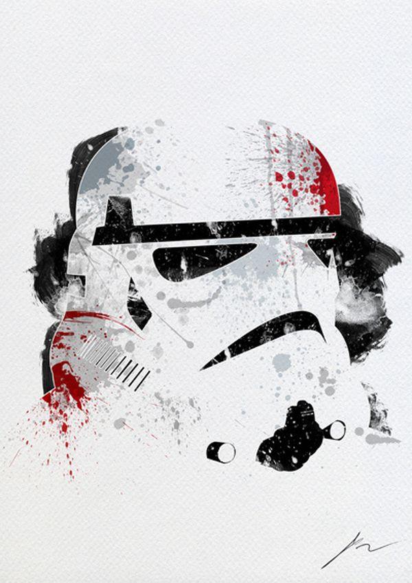 Star Wars – Pintura Splatter   Garotas Nerds