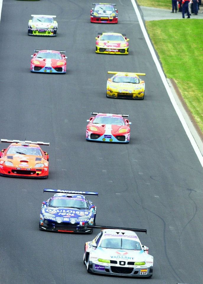 Marc Duez- Miguel Angel de Castro-Christian Lavielle. SEAT Toledo GT. 24 Hours Spa Francorchamps 2003