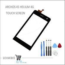 """Haute qualité 4.5 """" écran tactile pour Archos 45 hélium 4 G tactile Digitizer capteurs remplacement de verre extra - atmosphérique avec outils(China (Mainland))"""