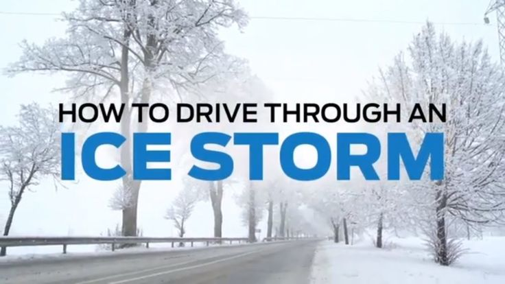 How to drive safely in winter weather