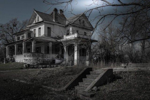 strašidelné domy v Amerike