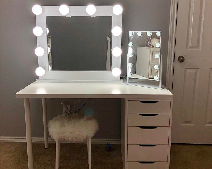 36x30low Shippinghollywood Vanity Mirror Perfect For Ikea Etsy