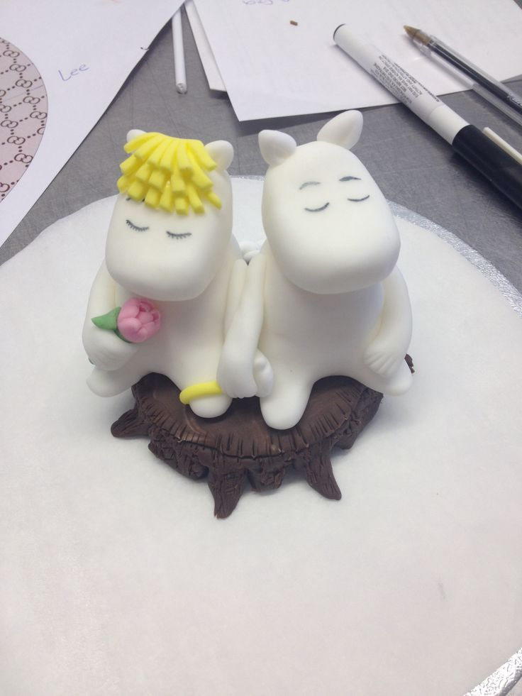 Moomin Cake Topper Birthday Party Pinterest Cakes