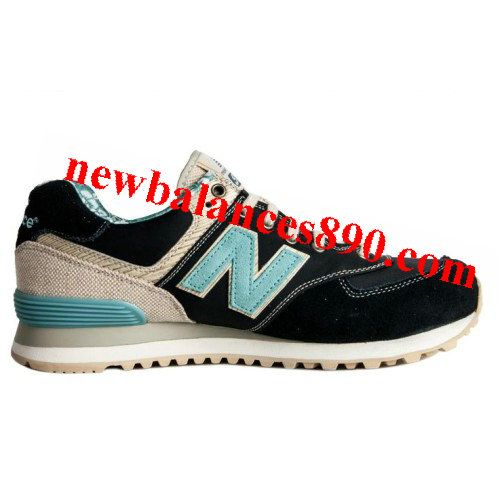 New Balance ML574OSB Surfer Pack Aloha Summer Beach Cyan Khaki Black women  shoes