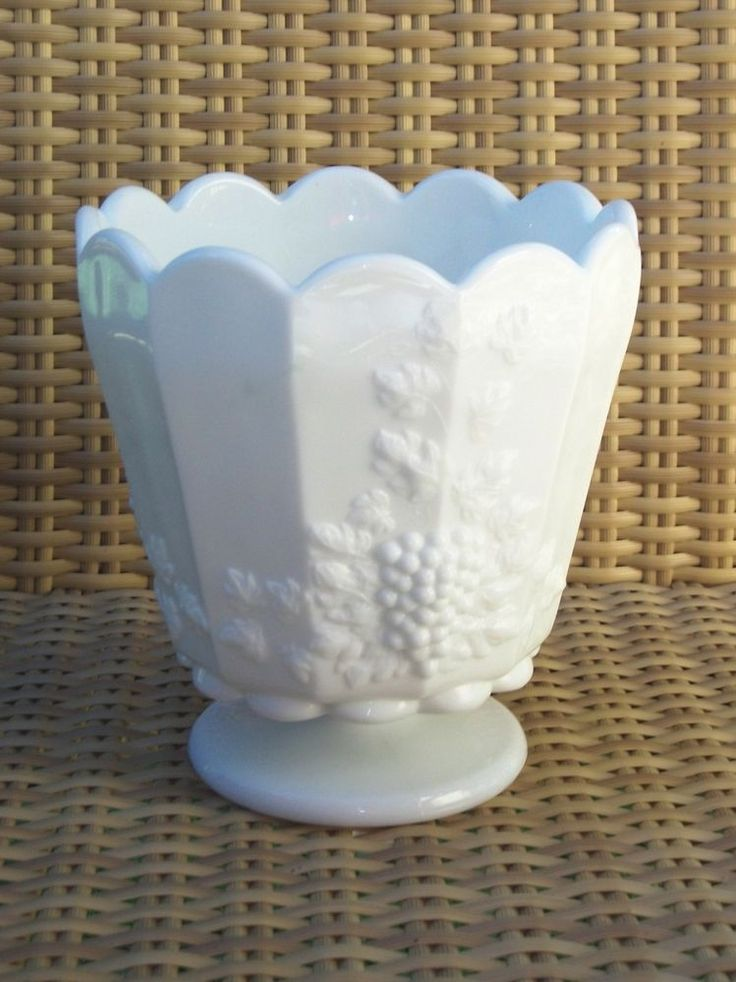 2908 Best Addicted To Milk Glass Images On Pinterest Crystals