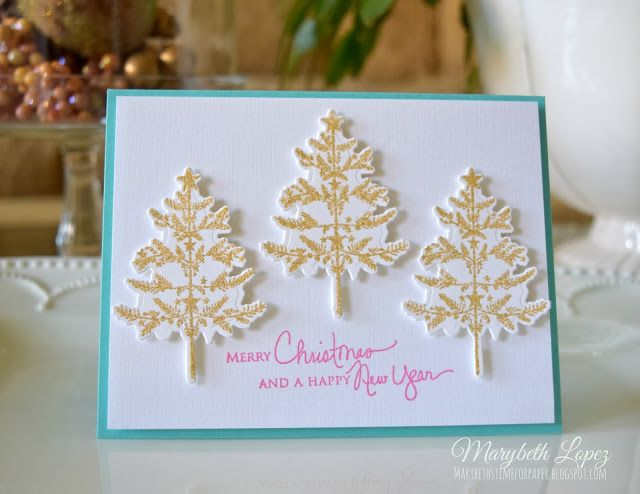 Marybeth's time for paper Using Papertrey Ink Holiday Folk Art, and Signature Christmas by Marybeth