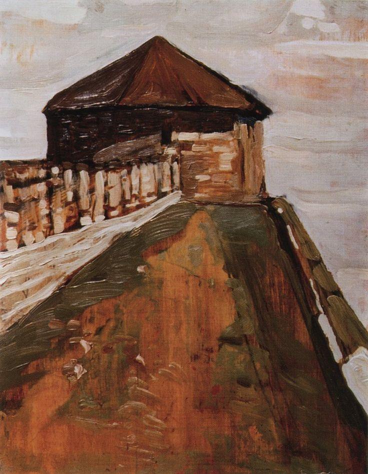 Нижний Новгород. Строжевая башня. 1903
