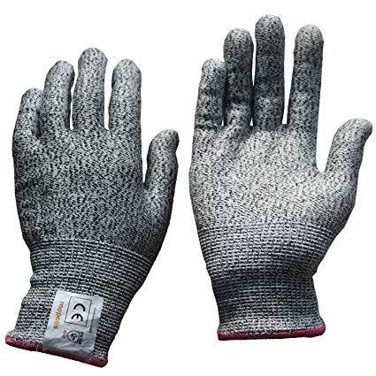 Cut Resistant Gloves Review Nocry Cut Resistant Gloves Review Gloves Food Grade Ebay
