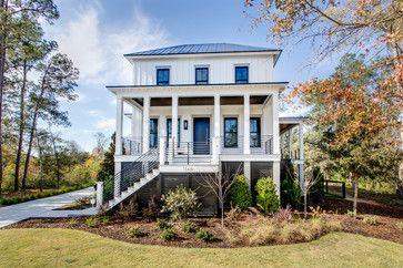 Ply Gem Aluminum Clad Windows.  Daniel Island - contemporary - exterior - charleston - JacksonBuilt Custom Homes