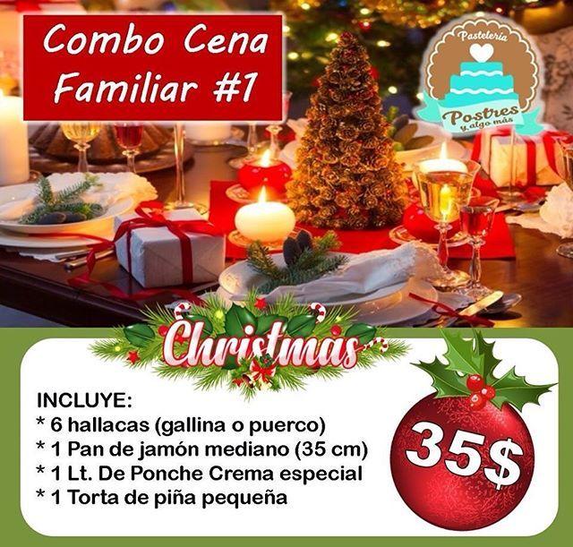 Super Promo Cena Navidad Y Fin De Ano Tenemos 3 Opciones Para Ti Combo 1 Ideal Para 6 Personas Precio 35 N Table Decorations Decor Home Decor