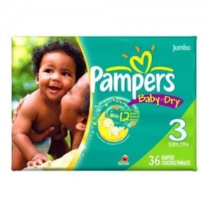 Pampers Jumbo Pack Diapers $4.50