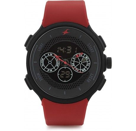 38013pp02  fastrack analog+digital watch