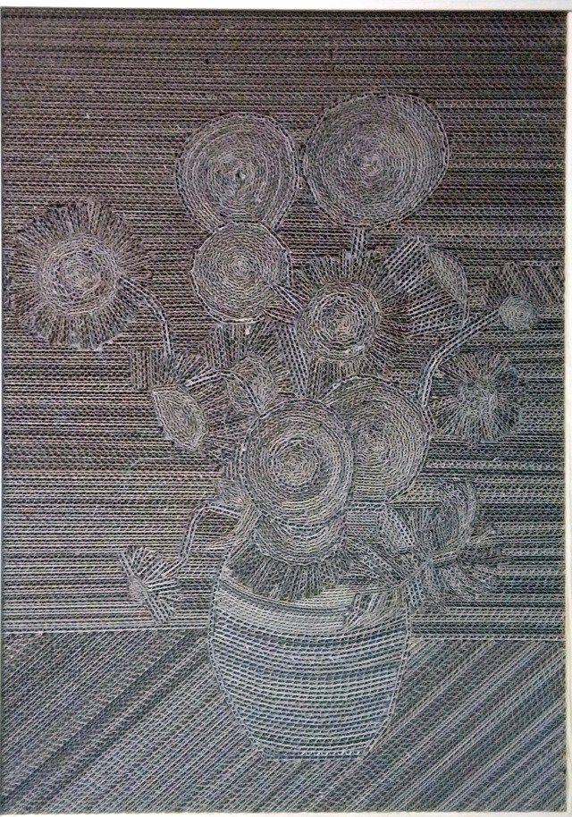 Słoneczniki / Sunflowers   Z Kartonu