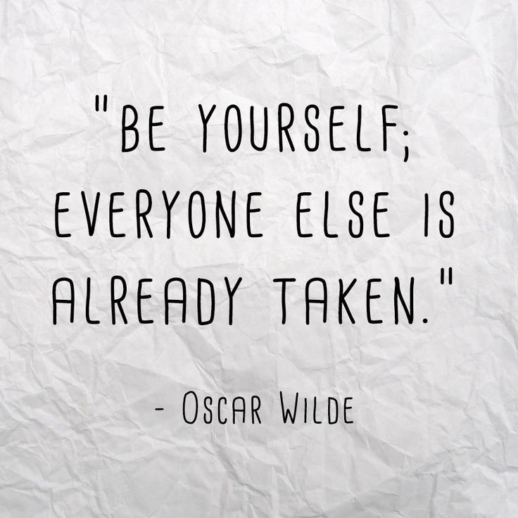 """""""Be yourself; everyone else is already taken"""" - Oscar Wilde. #quoteoftheday #quotes"""
