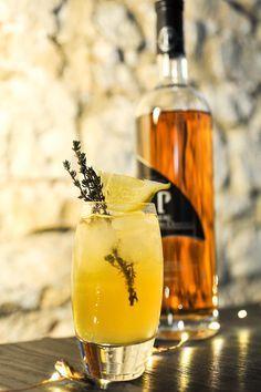 Cocktail : Le Lady Bee by Pineau des Charentes