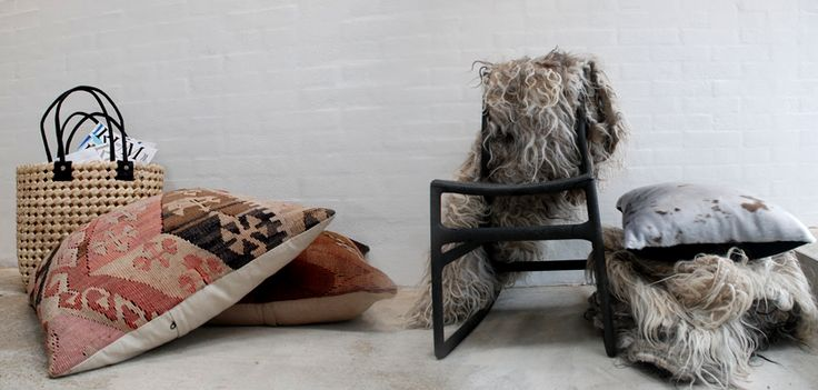 Great rugs handmade by Pia Rosana. Made of sheepwool. Beautiful unique rug - made in Denmark