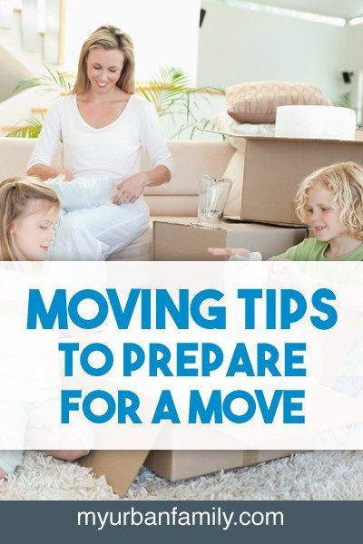 Moving tips needed to prepare for a move: declutter, gather boxes, pack, change address, a moving survival kit, mentally prepare, and saying goodbye.