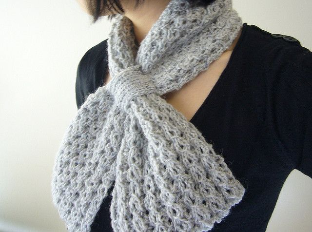 Free Knit Scarf Pattern on Ravelry Knit and Crochet Pinterest