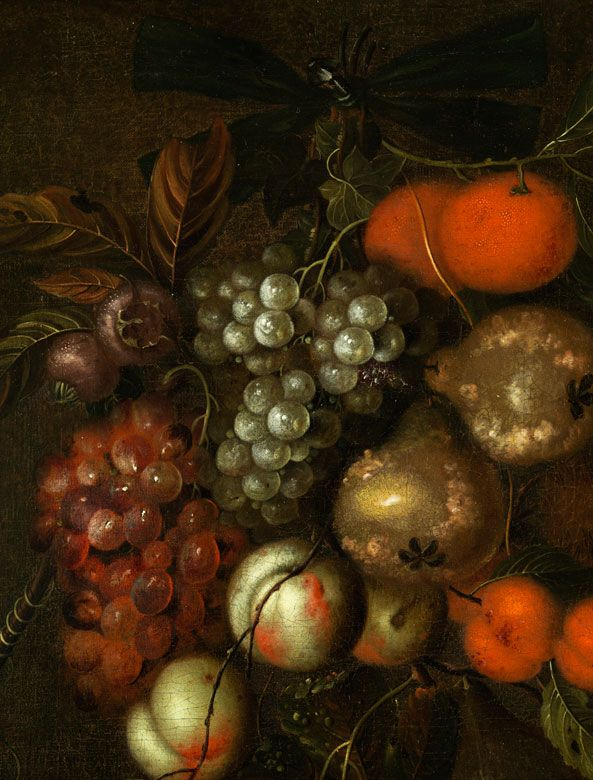 Dutch painter of the 17th century from the circle of Abraham Mignon  1640…