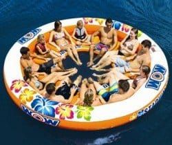 12 person inflatable island