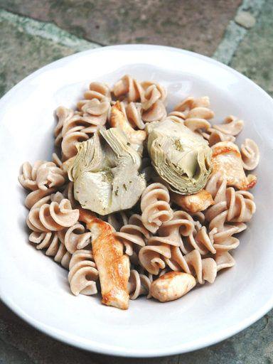 Salade de pâtes au poulet : Recette de Salade de pâtes au poulet - Marmiton