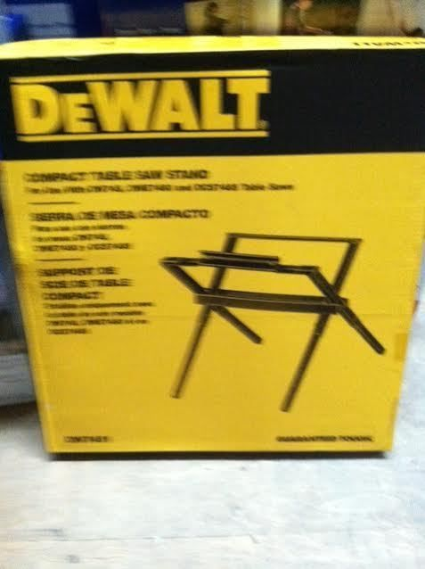Table Saws 122835: New Dewalt Dw7451 Folding Portable Table Saw Leg Stand Kit For Dw745 Sale Price -> BUY IT NOW ONLY: $74.99 on eBay!