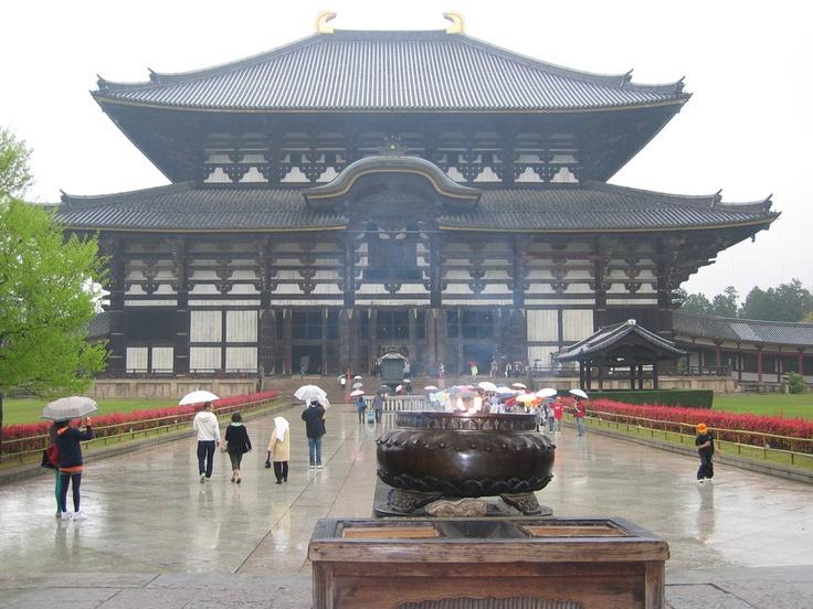 Tempio buddista a Nara - Giappone