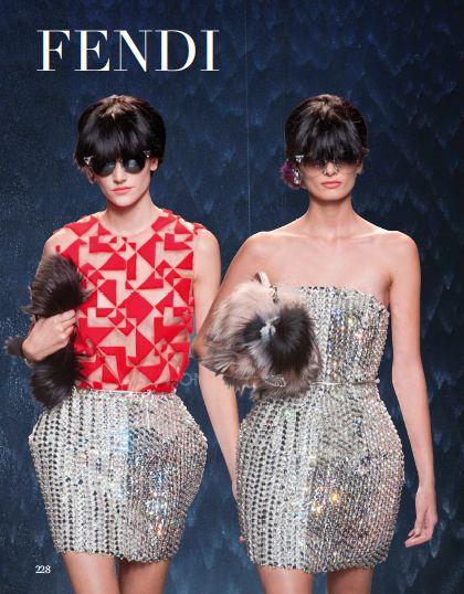 From our Prêt-à-Couture chapter: Fendi. #fendi #pretacouture #catwalk #fashionshow #fashion #style #look @Fendi