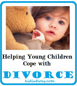 Helping Young Children #Cope with #Divorce - Tips for Parents