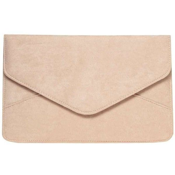 Dorothy Perkins White Suedette Clutch Bag ($17) ❤ liked on Polyvore featuring bags, handbags, clutches, white, white purse, dorothy perkins, white handbags and white clutches
