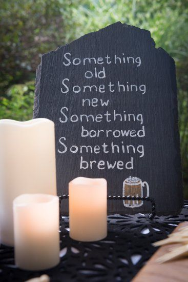 A Beer Themed Wedding