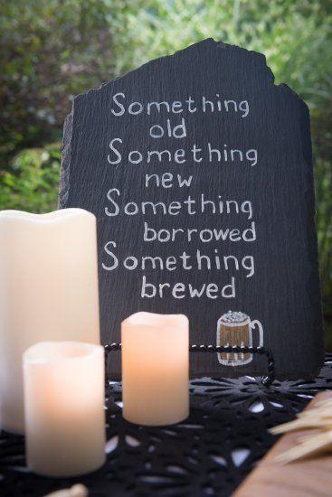 A Beer Themed Wedding