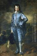 Portrait of Jonathan Buttall (The Blue Boy) 1770  by Thomas Gainsborough