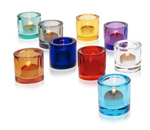 Colourful Candels by Finnish iittala