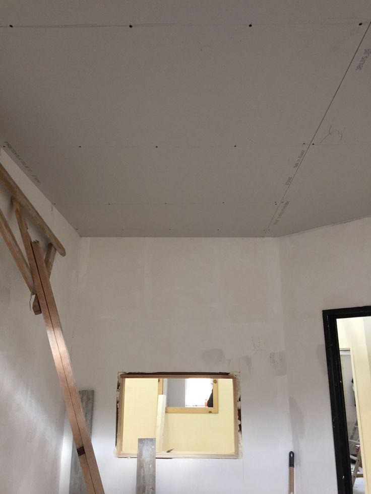 Theorie Et Pratique Pose Du Placo Au Plafond Plafond Batiment Carreleur
