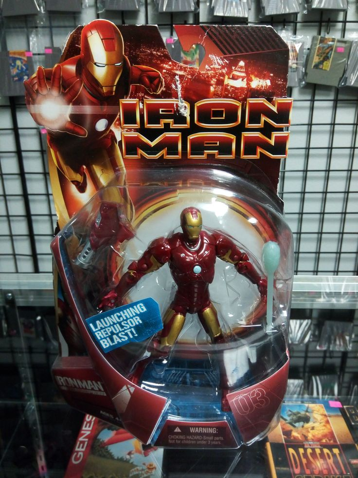 Iron Man Mark03 Launching Repulsor Blast