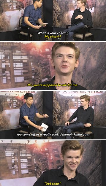 Thomas Sangster and Ki Hong Lee - What is your charm?