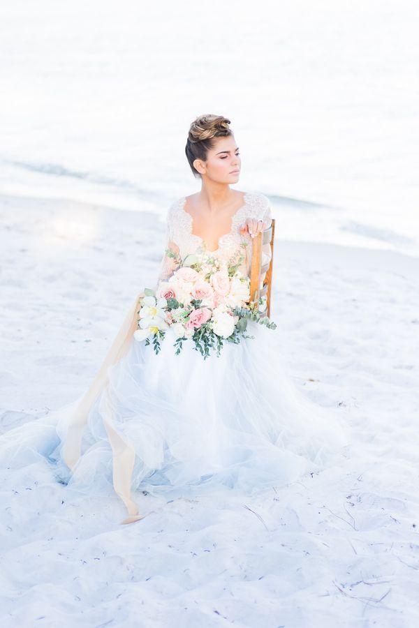 French Infused Coastal Wedding Inspiration