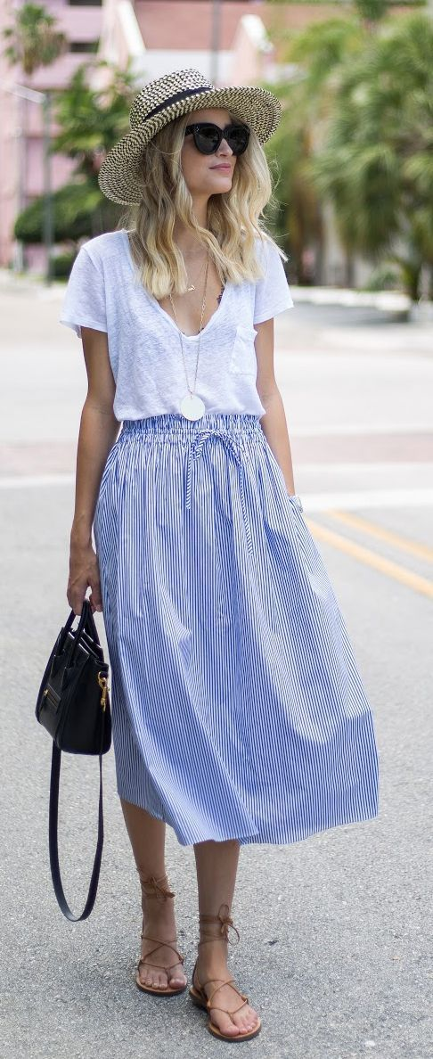 17+ best ideas about Midi Skirts on Pinterest | Modest ...