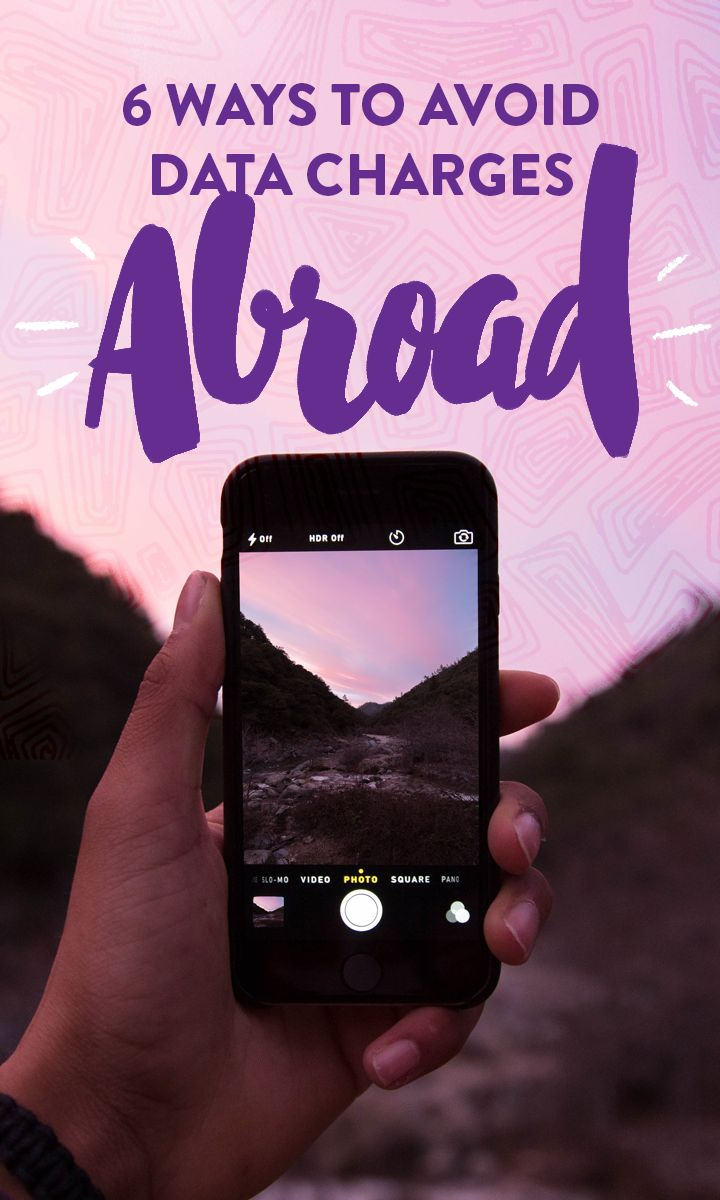 Using your cellphone when abroad can rack up crazy data charges. Minimize the cost of travel with these tips.