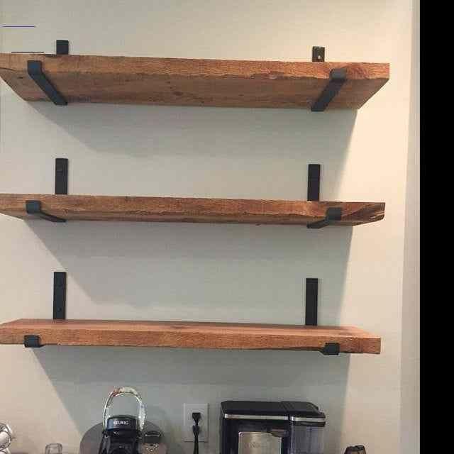 Metal Shelf Brackets Modern Shelf Bracket Industrial Shelf Kitchen Shelving Open Shelf E In 2020 Wood Floating Shelves Floating Shelves Diy Kitchen Shelf Brackets