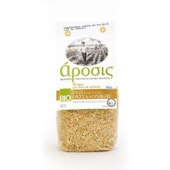 Organic brown rice from Thessaloniki