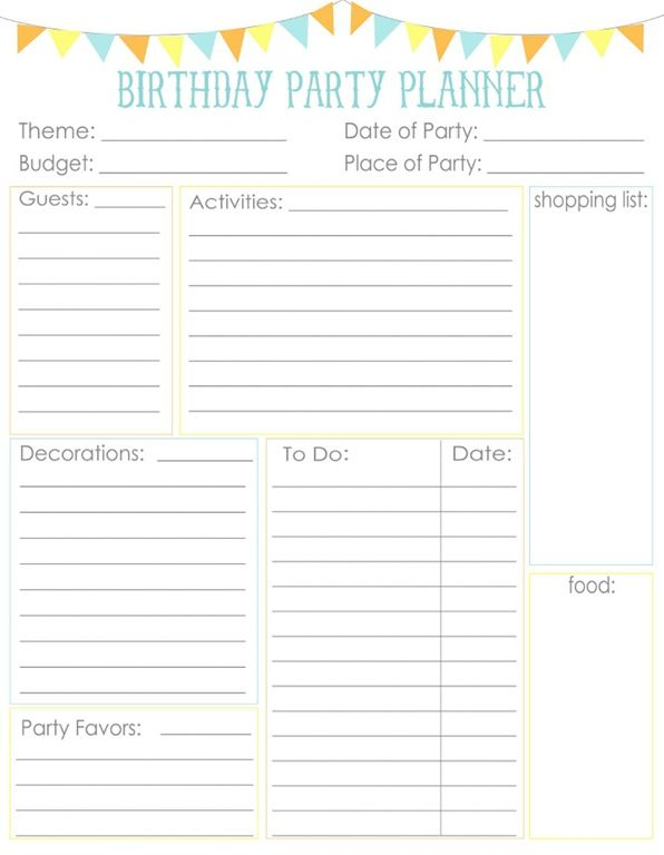 1000+ ideas about Party Planners on Pinterest | Birthday party ...