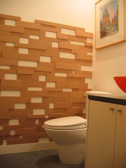 cheap ways to make your walls look cool. 2. Medium-dense fiberboard is a cheap and easy way to add dimension to your walls. Pick boards of various thicknesses and sizes, arrange however you'd like, and affix them to the wall with nails (cover the nail holes with paintable caulk). Paint the panels when done if you want. More tips are here.