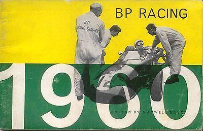 BP Racing 1960 Grand Prix F2 Motor Boating Motor Cycling Rally Stirling Moss +